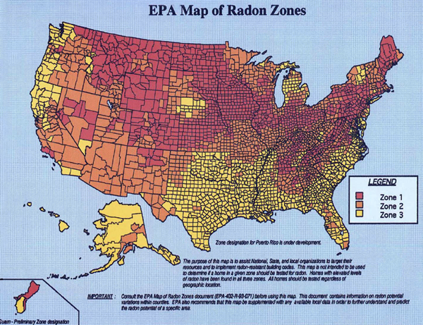 Radon Testing Inspection Advantage